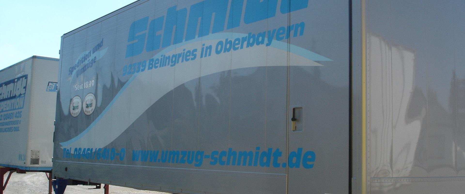 Spedition möbel einlagern  Einlagerung - Umzug Schmidt